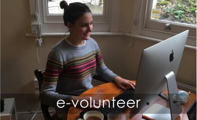 e-volunteer with people & places